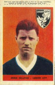 Derek Sullivan of Cardiff City in 1961.