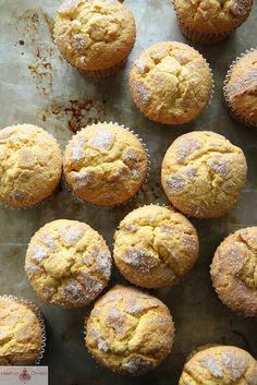 Pumpkin Snickerdoodle Muffins by Heather Christo