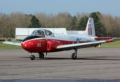 Jet Provost T3a (?) based at RAF Church Fenton