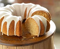 Maple Syrup Cake...The syrup is in both the cake and the frosting for this dessert recipe. A little ground ginger also adds a zing of flavor.