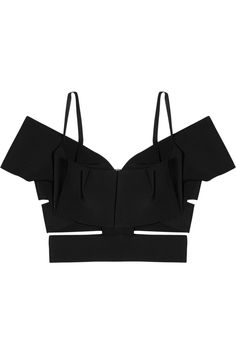 Roland Mouret bud stretch cutout cropped top. HELL YES.  I really want this!!!!