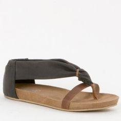 Spm Zwarte Sandaal 1412312 | ShoesForFashion