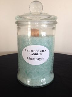 Champagne Woodwick Palm wax candle by ChristalClean on Etsy Wood Wick Candles, Candle Wax, Champagne, Palm, Gift Ideas, Gifts, Etsy, Inspiration, Biblical Inspiration
