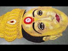 Rangoli Ideas, Rangoli Designs, Special Rangoli, Navratri Special, Sushi, Japanese, Ethnic Recipes, Youtube, Art