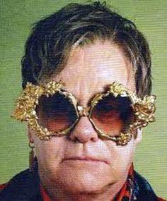 Elton John Glasses   Voting for Celebrities and Their Eye Glasses