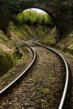 Photograph Tren Ferrol Betanzos by Jose Ramón Caamaño Sobrino