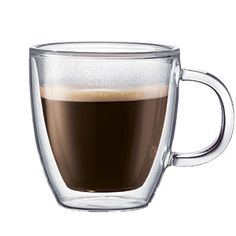 ThinkGeek :: Bistro - Double Walled Coffee Mug