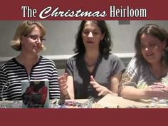 The authors of The Christmas Heirloom work together to make a Christmas ornament inspired by the brooch which ties all four of our stories together!  #christmas #romance  #stories