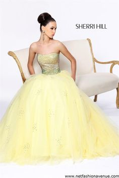 Sherri Hill prom dress 21020 is a part of the 2013