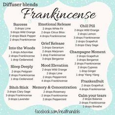 Frankincense Diffuser Blends