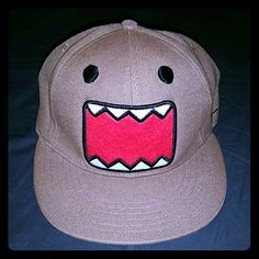 Mens Domo hat Worn once. Too big. 85% Acrylic, 15% Wool. Still in good condition, great for any Domo fan! Domo Accessories Hats