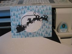 Cricut Christmas Card Ideas | Cricut Card Idea for Easy Christmas Cards Using The Cricut Cartridge ...