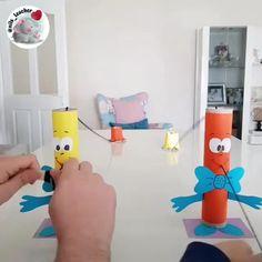 Toddler Crafts, Preschool Crafts, Diy Crafts, Toddler Learning Activities, Indoor Activities For Kids, Indoor Games, Montessori Activities, Educational Activities, Paper Crafts For Kids