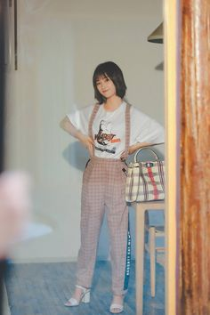 Classic Wardrobe, New Wardrobe, Shan Cai, A Love So Beautiful, Meteor Garden 2018, Cool Outfits, Fashion Outfits, Chinese Actress, Asian Style