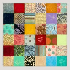 "I could make this - ""Patchwork II"" by Joel Ganucheau 