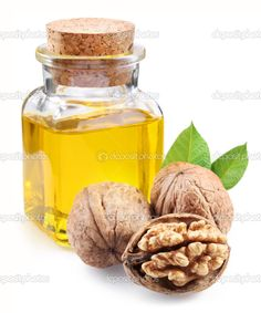Walnut oil contains large amounts of magnesium, potassium and calcium, which are so necessary for our vision. Used in the treatment of cardio - vascular system, strengthens the heart muscle, is used for arrhythmia and tachycardia, stabilizes blood pressure, and improves the nutrition of the brain cells, concentration and memory. It is useful in diseases of the thyroid gland.  http://nnnefertiti.com/Products/Natural-Oils/Walnut-Oil.php