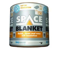Knauf 150mm Space Blanket Loft Insulation Roll 1.97m2 | Wickes.co.uk