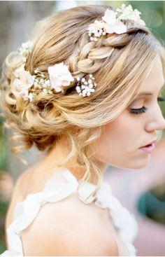 Bohemian Wedding Hairstyle Ideas | Haircuts, Hairstyles 2016 and Hair colors for short long & medium hair