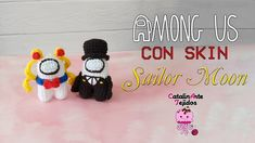 Among us crossover Sailor moon Amigurumi | CatalinArte Tejidos - YouTube