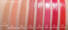 RIMMEL Apocalips Lip Lacquer Beauty Swatch review. Oh my I am in love with 303 Apocaliptic