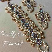 Chantilly Lace Bracelet - via @Craftsy