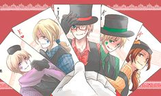 "This is what you get when you look up ""hetalia poker""."