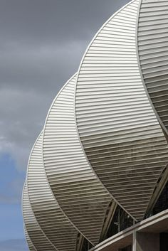 Nelson Mandela Bay Stadium by GMP Architekten - Port Elizabeth. South Africa