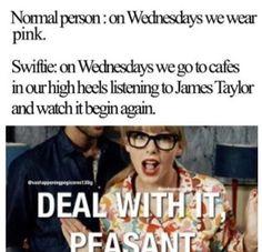 Taylor Swift. Hahaha