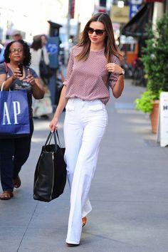Street Style Celebrities: Miranda Kerr