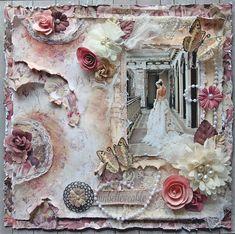 Unbelievable *Scraps Of Elegance* April Kit~Lynne's Garden Terrace - Scrapbook.com