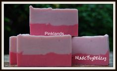 Pinklands. Valentine's Gift. Handmade soap with by MadeByORiley
