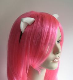 These horns are based on the lovely (and in some cases, crazy) ladies of Elfen Lied. They are great for cosplay, or striking fear in the hearts of