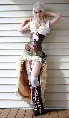 Sexy Halloween Costumes 20 Hot Steampunk Styles