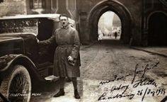 Adolf Hitler on his Release from Landsberg Priso