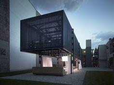 Pop up architecture: BMW Guggenheim Lab