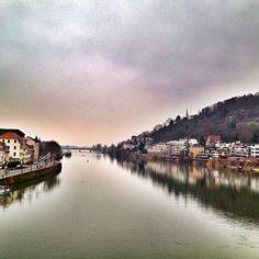 Heidelberg, Germany from the bridge - @tempotommy- #webstagram