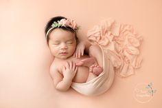 Newborn baby girl in peach. Coeur d'Alene Newborn and Family Photographer Newborn Baby Photos, Newborn Poses, Newborn Pictures, Newborn Session, Baby Boy Newborn, Baby Boys, Newborn Baby Photography, Newborn Photographer, Family Photographer