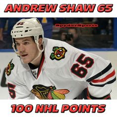 Andrew Shaw Reaches 100 NHL Points   Spyder Sports Lounge