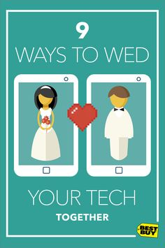 Trade duplicate electronics for gift cards. Merge your photo libraries. Save money with a family plan. Here are some ideas for a more perfect union of your two technology lives.