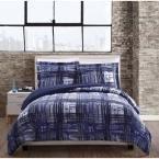 Fulton Plaid Multi-Color King Comforter Set, Multiple