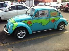 scooby doo punch buggy!