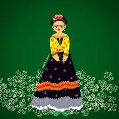 뷰티풀 프리다칼로. Beautiful Frida Kahlo   #데일리 #명작 #프리다칼로 #아티스트 #패션 #그림쟁이 #일러스트 #그림 #디자인 #아트 #손그림 #instadaily #fridakahlo #artist #fashion #illustration #drawing #doodle #design #art