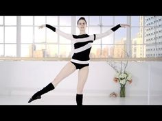 Ballet Beautiful with Mary Helen Bowers - Shape up from head to toe | NET-A-PORTER.COM - YouTube