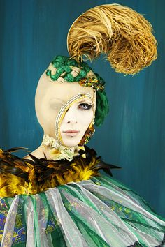 Madame Peripetie's Bird series for Tata Christiane. S)
