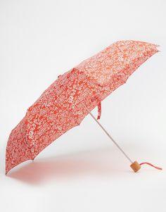 Fulton Minilite Umbrella In Batik Print