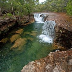'Elliott Falls, Cape York, Queensland, Australia' by Janette Rodgers Holiday Places, Holiday Destinations, Queensland Australia, Australia Travel, Places To Travel, Places To See, Australia Landscape, City Of Adelaide, Australian Photography