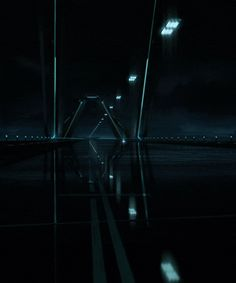 Tron Legacy - Flynn Going to Town in Kevin's Light-Cycle Arte Tron, Tron Art, Tron Legacy, Trondheim, Projection Installation, Light Cycle, Cyberpunk Art, Fantasy Movies, Ghost In The Shell
