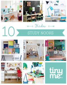 10 Kids Study Nooks