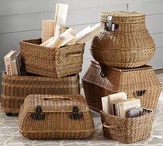 Jacquelyne Baskets   Pottery Barn