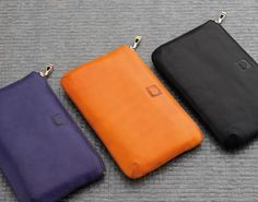 DELSEY: Small leather goods - Indiscrétion #pouch #yellow #black #purple #gift #DELSEY